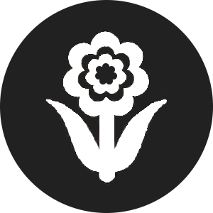 tinted flower icon for Uniflor